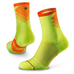 Sosete alergare Rockay Razer Trail neon/orange