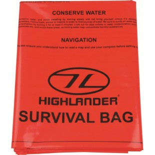 Sac supravietuire Highlander Emergency Survival Bag
