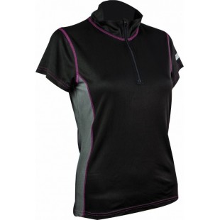 Bluza corp Highlander Pro Tech Zip Neck Women  Top