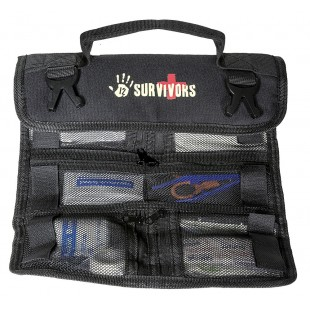 Trusa medicala 12 Survivors Mini First Aid Rollup Kit